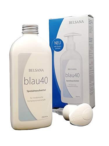 BELSANA blau40 Spezialwaschmittel für med. Kompressionsstrümpfe, 250 ml Lösung