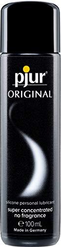 pjur ORIGINAL - Premium Silikon-Gleitgel - lange Gleitfähigkeit ohne zu kleben - sehr ergiebig und für Kondome geeignet (100ml)