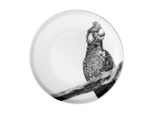 Maxwell Williams Marini Ferlazzo, noir/blanc, Porcelaine fine, 20 cm Plate