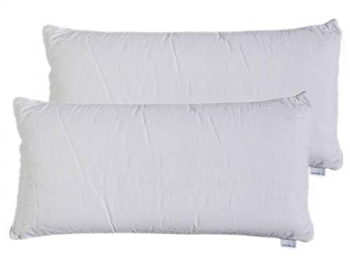 Sanidorm - Almohada para dormir (40 x 80 cm, 2 unidades)