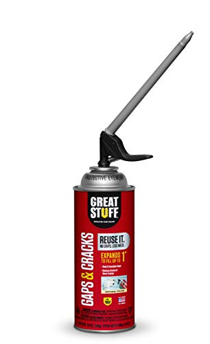 Great Stuff 99108824 Smart Dispenser Gaps & Cracks, Cream
