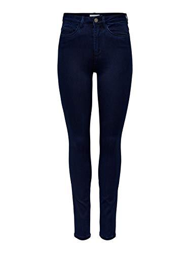 ONLY Damen ROYAL HIGH Skinny Jeans PIM101 NOOS Jeanshose, Blau (Dark...