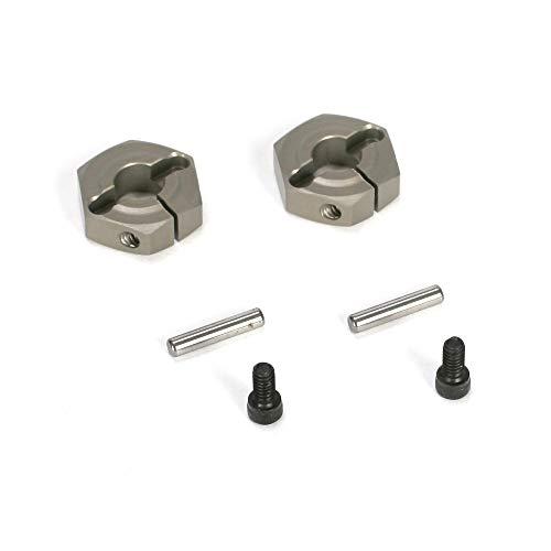 Losi Aluminum Clamping Wheel Hex (2): Ten-SCTE, LOSB3493