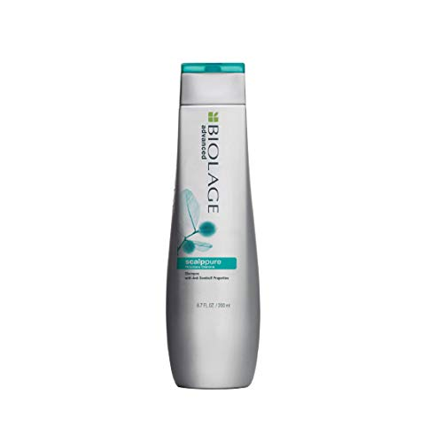 BIOLAGE Scalppure Shampoo | Paraben free|Targets Dandruff, Controls The Appearance of Flakes & Relieves Scalp Irritation | For Dandruff Control