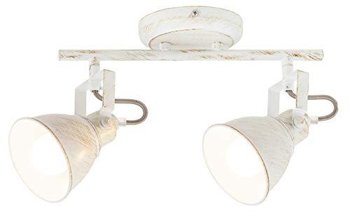 Plafondlamp wit, Vivienne, E14, lichtladen, plafondlamp