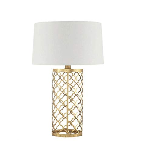 HHJJ Lámpara de Mesa Decorativa de Oro Retro Cama Creativa Lámpara Lámpara de Mesa Minimalista Lámpara Interior Estudio Café Barra de café Lámpara Lámpara-20479L4C9N