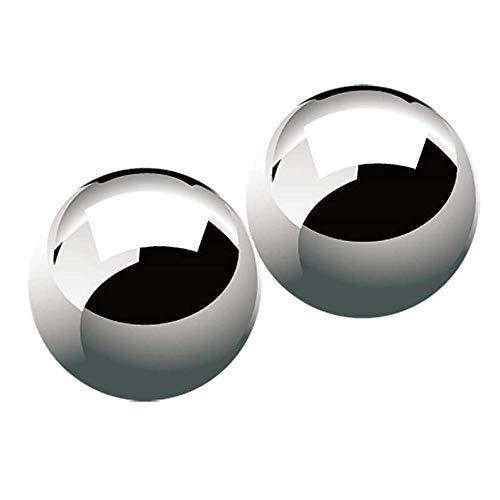 Bola de fitness, bola de acero macizo, bola de acero grande, potencia de ejercicio, 45 48 53mm, 2pcs-48mm-2pcs