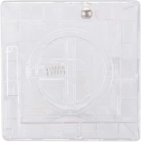 QWEA Maze Money Bank Caja de Rompecabezas 3D Hucha Moneda Tarro de Monedas de 9x9x9cm
