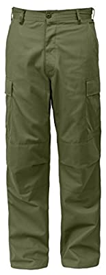 "Tactical BDU (Battle Dress Uniform) Military Cargo Pants, M (31""-35"" Waist), Olive Drab"