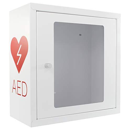SANISMART AED Wandschrank AED Schrank Universal mit Griff