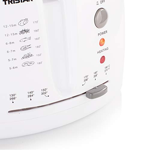 Friteuse Tristar FR-6904 – contenance : 2,5 litres – Extérieur «cool touch»
