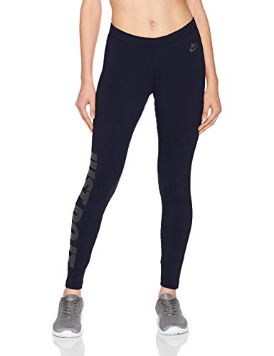 Nike Damen Just Do It Trainingshose, Obsidian/(Black), XL