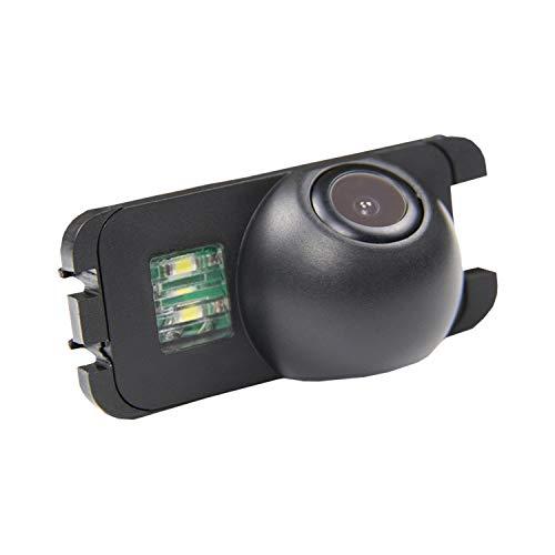 Farb Rückfahrkamera integriert in die Nummernschildbeleuchtung LED Kennzeichenbeleuchtung Kamera mit Distanzlinien für Ford Mondeo BA7/Ford/Focus 2/Fiesta/S Max/KUGA