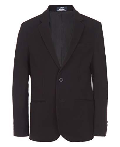 Arrow 1851 Boys' Big Aroflex Stretch Suit Jacket, Black, 16