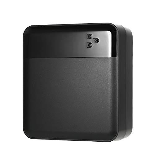 KKmoon bandenpomp op pomp, draagbaar, compressor, 12 V DC, met digitaal LED-display voor lucht tot 150 lb/po2, voor auto, fiets, SUV boot