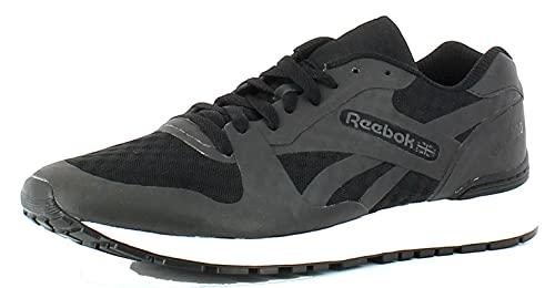Reebok Gl 6000 Hm Tech, Zapatillas Para Hombre, Negro (AQ9817_41 EU_Black/White), 39 EU