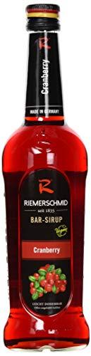 Riemerschmid Bar-Sirup Cranberry (1 x 0.7 l)