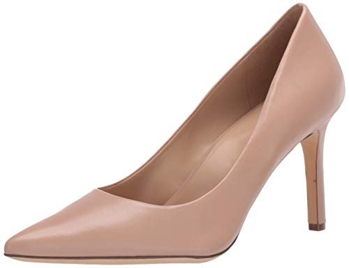 Naturalizer womens Anna Pump, Nude Leather, 9 US