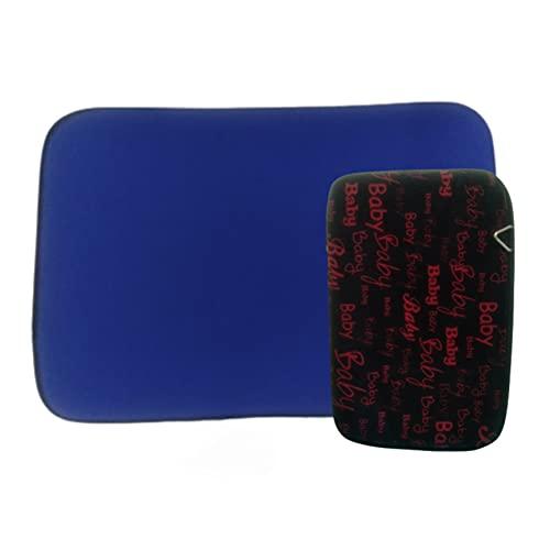 Kit Capa de Notebook 15.6 Azul Royal e Capa de Hd Externo Preta