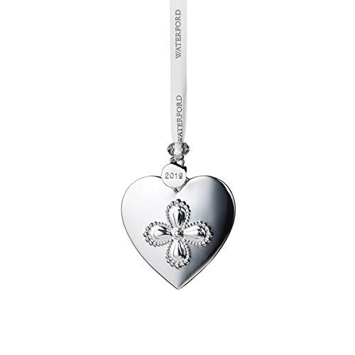 Waterford Silver Ornaments - Heart