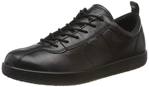 ECCO Damen Soft 1 W Sneaker, Schwarz (Black 1001), 42 EU