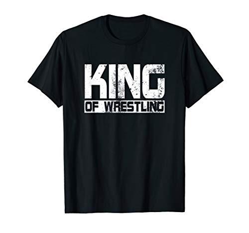 King of Wrestling T-Shirt Ringertrikot Ringen Trikot Tshirt T-Shirt
