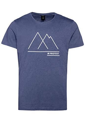 Protest Herren T-Shirt BOSHAM Ground Blue XXL