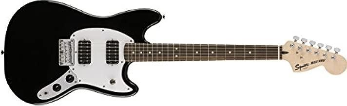 Fender 6 String Bullet Mustang Electric Guitar-HH-Rosewood Fingerboard-Black, (311220506)
