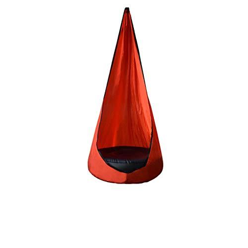 Silla para niños portátil con Columpio de Tela de paracaídas, innovadora Silla de Patio con cojín Aire, Silla Colgante para Hamaca,D