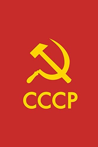 CCCP Sovietunion Notizbuch Flagge Nostalgie liniert für lustige Sprüche und ganz viele andere Weisheiten Gedanken aus der Vergangenheit bis ins jetzt: ... oder weil der alte Notizblock voll ist