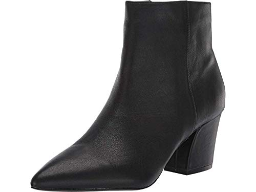 Steve Madden Missie Bootie Black Leather 8.5