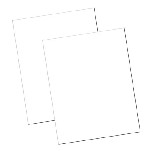 "UCreate Economy Poster Board, White, 22"" x 28"", 100 Sheets/Carton"