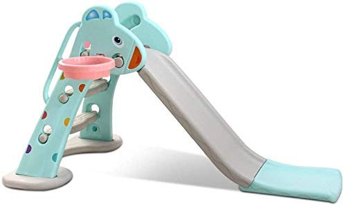WCY Diapositiva del Patio de los niños niños Indoor Joven for Jugar for niños y niñas Recomendado for Niños de 1-10 Plegable Inicio Diapositiva del Patio (Color: Rosa, Tamaño: 140x31x81cm) yqaae