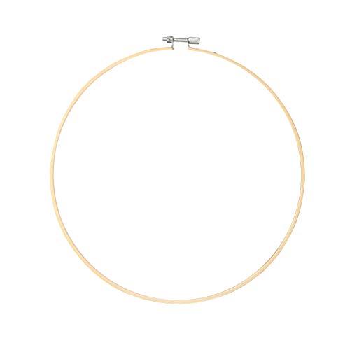 VOSAREA Stickrahmen Rahmen Ringe Stickzubehör Set für DIY Kreuzstich 40cm
