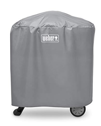 Weber Housse de Protection pour Grille Q 100/1000 et 200/2000 avec Support ou Chariot Noir