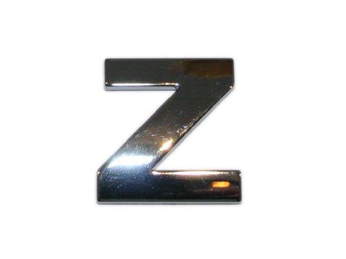 3D Chrombuchstabe Z