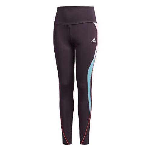 adidas - Fitness-Hosen für Mädchen in Nobprp/Brcyan/Sigpnk, Größe 152