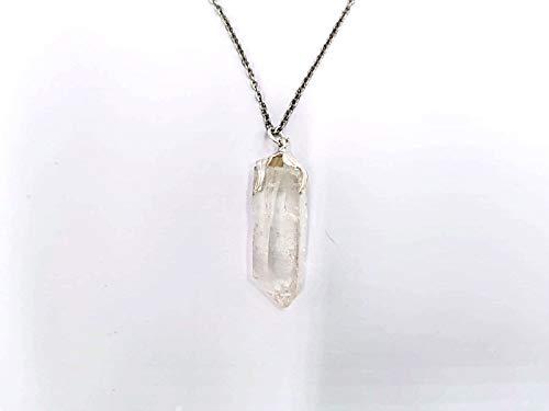 Colgante colgante collar Minerales piedras duras semipreciosas joyas artesanales (PUNTA DE CRISTAL...