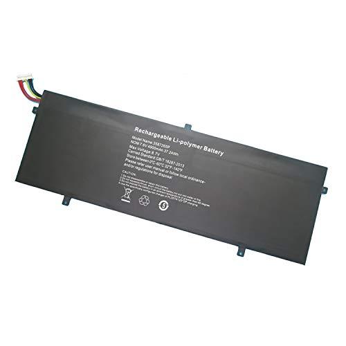 Batería de repuesto de Backupower 3282122-2S 3382122-2S CLTD-3487265 HW-3687265 P313R WTL-3687265 compatible con Jumper EZbook LB10, EZbook MB10 3S, EZbook X3, Notebook Slim S130