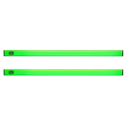 Cooler Master 2x Universal LED Strip Green Accessorio per Case per PC 'Base Magnetica, Illuminazione Uniforme, SATA alimentato' MCA-U000R-GLS000