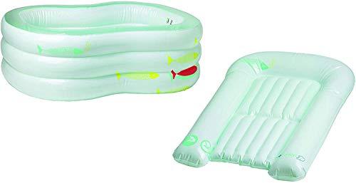 bébé confort 32000079aufblasbare Badewanne und Wickelauflage
