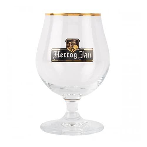 Hertog Jan - Ölglas på fot 25 cl – 6 stycken