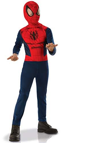 Rubies-kostuum Marvel-Spiderman S Meerkleurig
