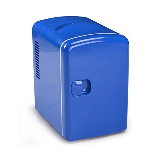 ELXSZJ XTZJ Mini refrigerador de 4 litros para Enfriador portátil y cálido refrigerador de automóviles para el Cuidado de la Piel, Leche, Alimentos, Dormitorio y Nevera de Viaje