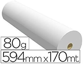 Papel reprografia para Plotter Navigator 80 g/m2, medidas 594 mm x 170 m: Amazon.es: Oficina y papelería