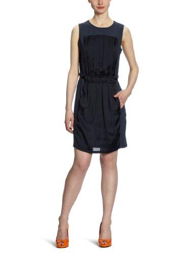 Calvin Klein CK KWW393 F9E00 - Vestido Largo hasta la Rodilla para Mujer, Azul (7a0), 46 (40)