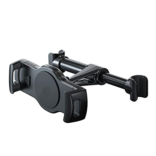 Soporte para Reposacabezas para Coche,MoreChioce Soporte para Tablet y Teléfono de 11 cm-19,5 cm de Ancho Asiento Trasero para Automóvil 360° Rotación Soporte Tablet para Reposacabezas del Coche