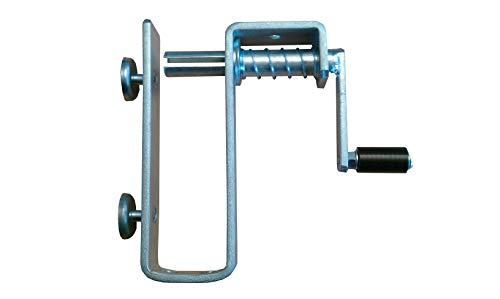 Sjorriem - oproller voor riembreedtes tot 50 mm en 10 meter lengte staal, verzinkt