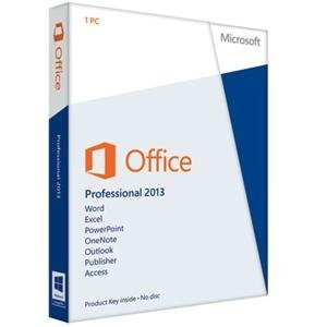 Microsoft Office 2013 Professional PKC (Product Key Card)