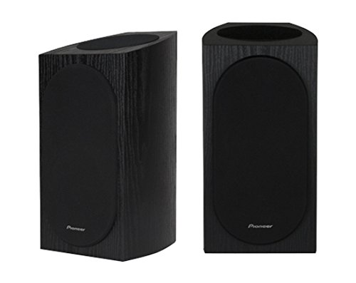 Pioneer SP-BS22A-LR Andrew Jones Home Audio Bookshelf Speaker, Dolby Atmos Enabled (Set of 2) - Black